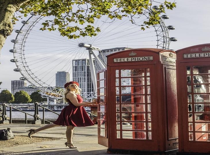 Bốt điện thoại đỏ - biểu tượng nổi tiếng của London